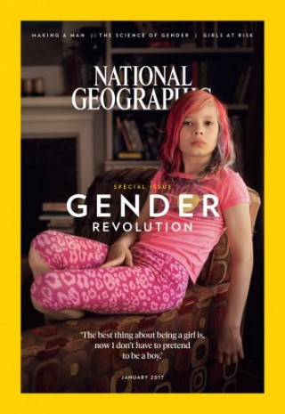 Avery Jackson on the cover of National Geographic